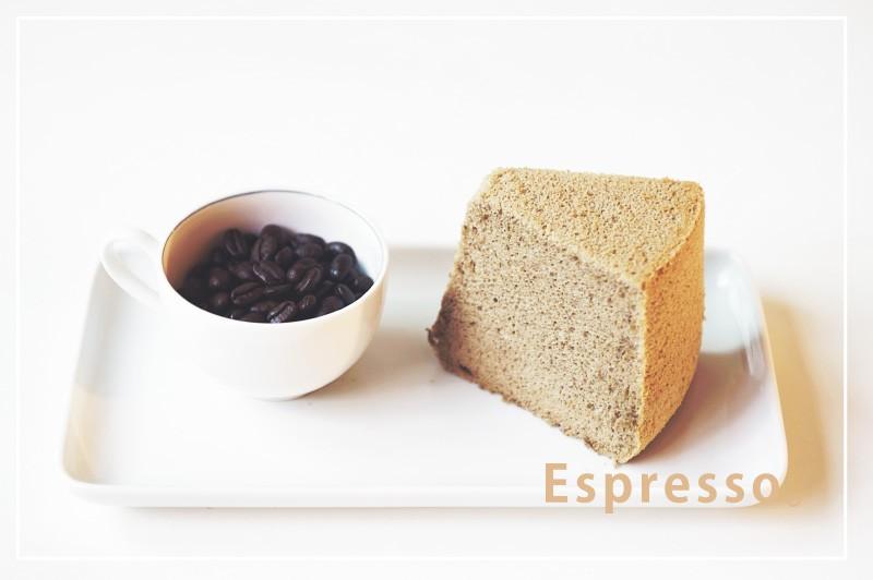 純粹, 戚風, 9吋, 義式, 濃縮, 咖啡, 戚風, 蛋糕, espresso